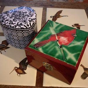 Vintage Cardinal Box&Brighton Box